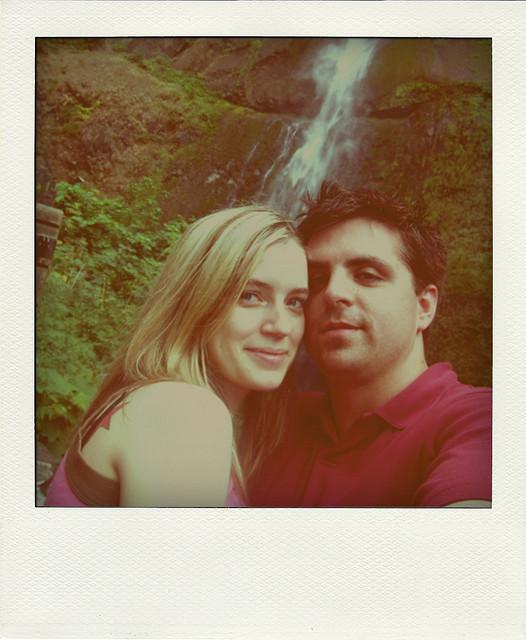 polaroid couple