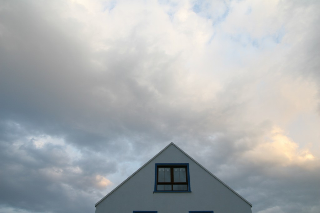 house and sky
