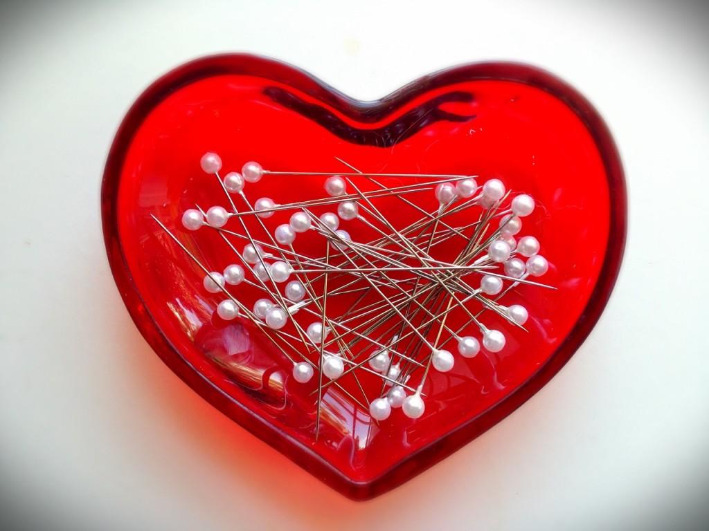 pin heart